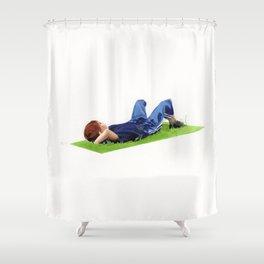Tros de cel Shower Curtain