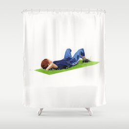 Tros de cel Shower Curtain