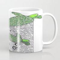turtles Mugs featuring Turtles by Kandus Johnson