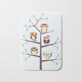 Owl Pine For You Bath Mat