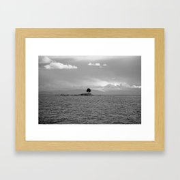 lonely tree II Framed Art Print