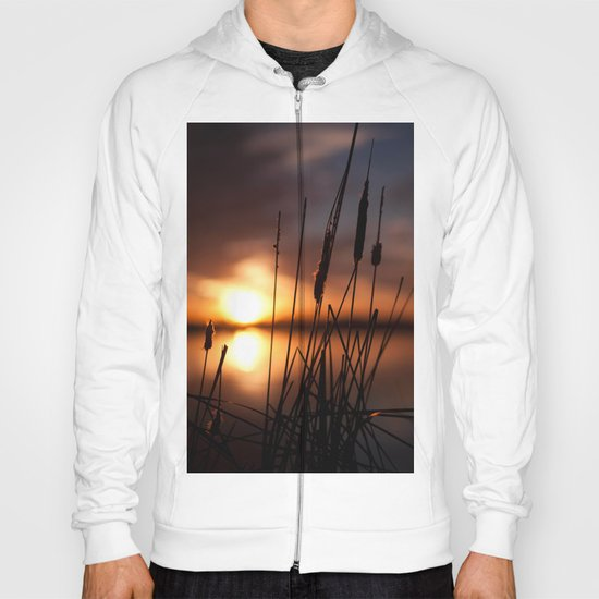 Sunset Lake and Silhouette Hoody