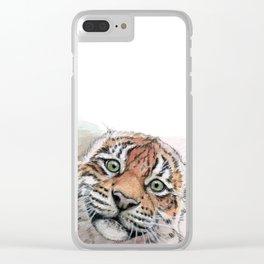 Tiger Cub 887 Clear iPhone Case
