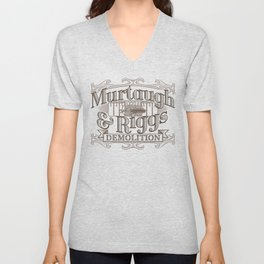 Murtaugh & Riggs Demolition Unisex V-Neck