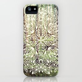Mandala Vintage Forest Path iPhone Case