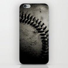 Baseball Dark iPhone & iPod Skin