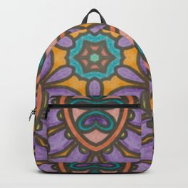 Mandala Mirror Backpack