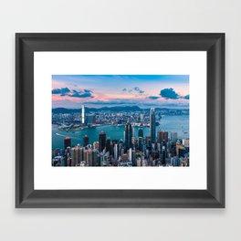 HONG KONG 03 Framed Art Print