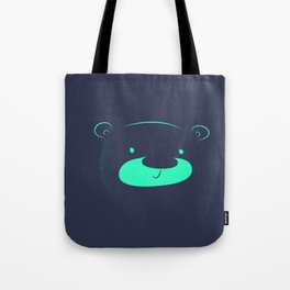 Neon bear Tote Bag