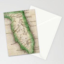 Vintage Map of Florida (1822) Stationery Cards
