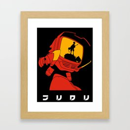 Canti Fooly Cooly Framed Art Print
