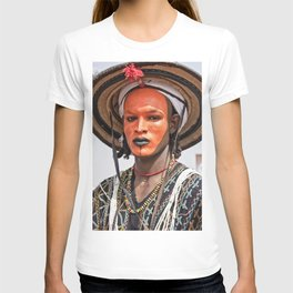 Fulani Wodaabe man - Niger, Africa T-shirt