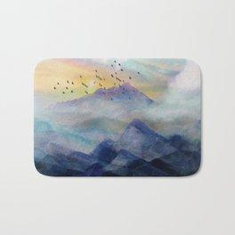 Mountain Sunrise Bath Mat