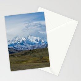 Mount McKinley Denali National Park Alaska Stationery Cards
