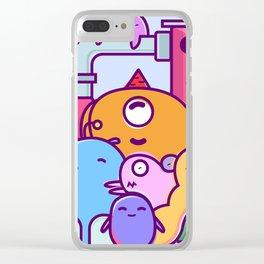 Slugs Clear iPhone Case