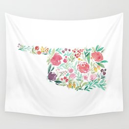 Bloomin' Oklahoma Wall Tapestry