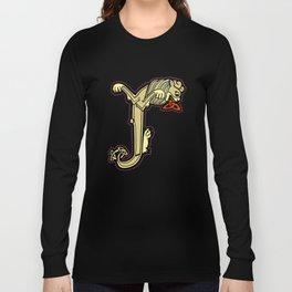 Celtic Lion Letter J 2018 Long Sleeve T-shirt
