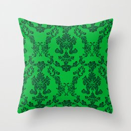 Guts on the wall Throw Pillow