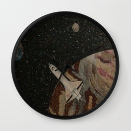 Going Home Wall Clock