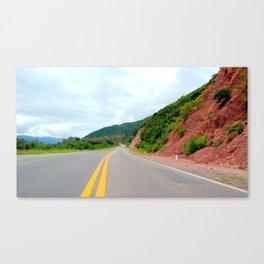 Route Canvas Print