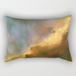Omega Swan Nebula Constellation Sagittarius Rectangular Pillow
