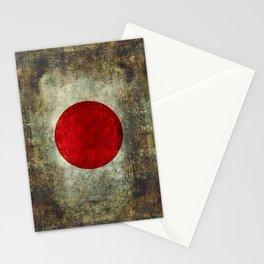 National flag of Japan - Super Grunge Stationery Cards