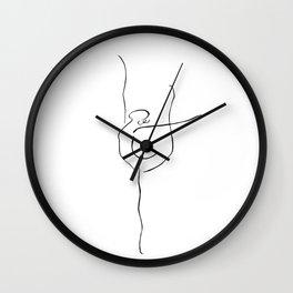 Ispiration ballerina Wall Clock