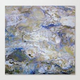 Rapsody in Blue Canvas Print