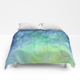 Northern Lights Sky Galaxy Comforters