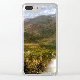 Heart Of The Andes Clear iPhone Case