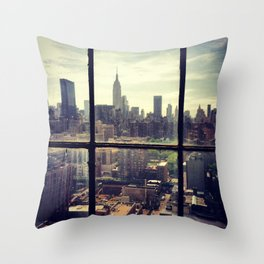 i love NY Throw Pillow