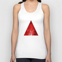 wood Tank Tops featuring Wood by cinema4design