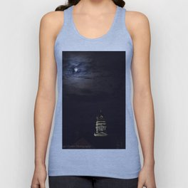 Gloucester City Hall and the full moon Unisex Tank Top
