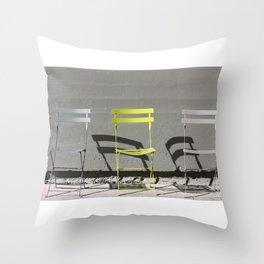 The High Line Throw Pillow