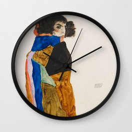 """Egon Schiele """"Moa"""" Wall Clock"""
