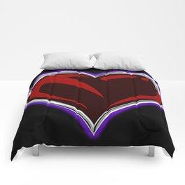 """""""Sacred"""" Heart Emblem Comforter Comforters"""