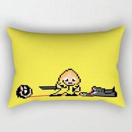 Kill Pixel Bill  Rectangular Pillow