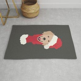 Golden Retriever Christmas Dog Rug