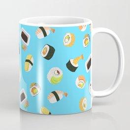 Sushi Pattern Coffee Mug