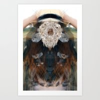 Birth//Death//Rebirth Art Print