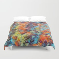 Playing colors Duvet Cover