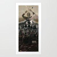 manmachine Art Print