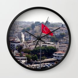 Flag of Turkey Wall Clock