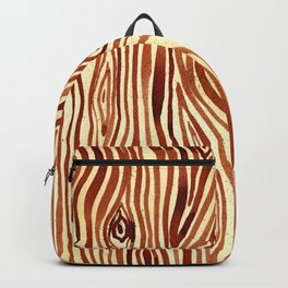 Woodgrain Watercolor Backpack