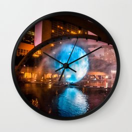 Nuite Blanche 2016 art City hall Wall Clock