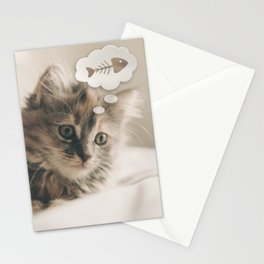 Dreaming Cat Stationery Cards