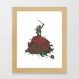 Never Forget That They Were Ninja Framed Art Print
