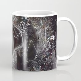 When Worlds Collide-Abstract Universe Coffee Mug