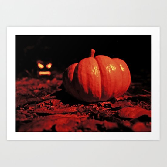 October surprise Art Print