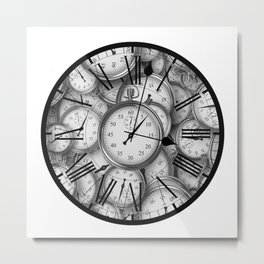 Time Inside of Time Metal Print